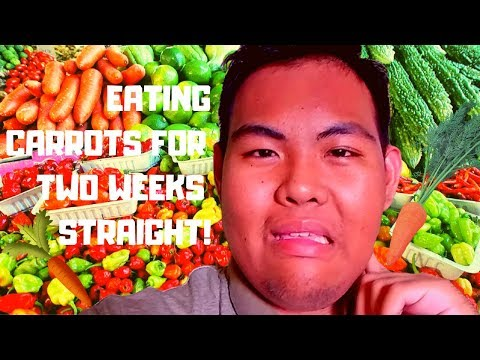 EATING CARROTS FOR TWO WEEKS STRAIGHT!
