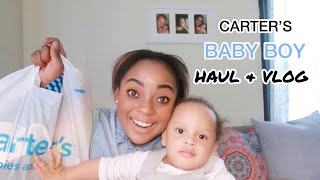 CARTER'S BABY BOY HAUL & VLOG
