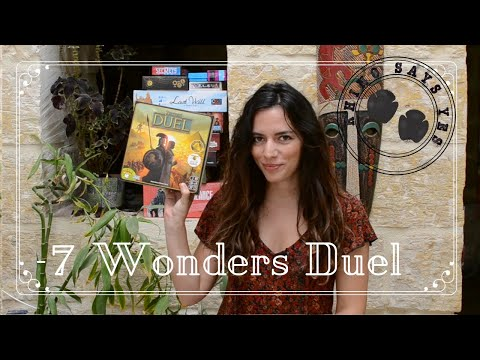 Short review and overview of 7 Wonders Duel