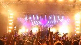 Dragonforce - Wings of Liberty (Live at Metalhead Meeting, 3.06.2016, Bucharest, Romania)