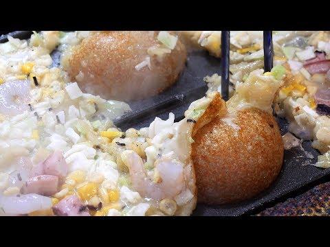 king takoyaki (대왕 타코야끼 たこやき 章鱼小丸子 3500KRW) / korean street food