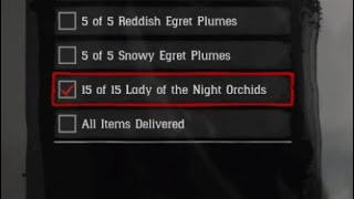 Red Dead Redemption 2: All 15 Lady Of The Night Orchids Locations