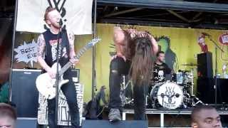 While She Sleeps- Our Courage, Our Cancer - Live 8-3-13 Vans Warped Tour