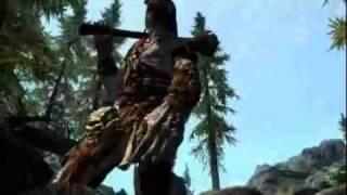 The Elder Scrolls V Skyrim Gamestop Footage