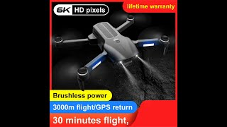 F9 Drone 5g Wifi Fpv Gps With 6k Hd Dual Camera Aerial Photography