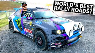Ken Block Races on Some of the Greatest Rally Roads in the World!