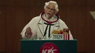 KFC Commercial 2017 Rob Lowe Zinger Sandwich Announcement
