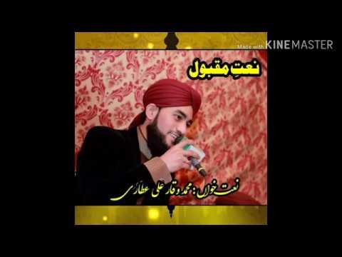 Ak asa kalam jise sun kar rooh ko skon mily. Muhammad Waqar Ali Attari. Muradyn mil rahi han.