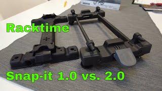 Racktime Snap-it 1.0 vs. Snap-it 2.0, die Verwendung, Unterschiede, Umrüsten, Umbauen - Tutorial