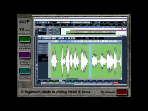 A Beginner's Guide to Mixing Metal at Home – Episode 4 part 1 (Vocals)