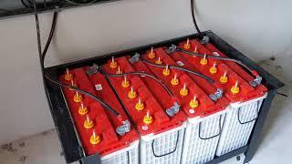 ระบบโซล่าเซลล์ไฮบริด 5kw บ้านสวนพึ่งพาตนเอง ไม่ต้องเสียค่าน้ำ ค่าไฟ 082-8882738 ร้านไอเดียโซล่าเซลล์