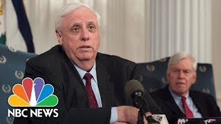 West Virginia Governor Jim Justice Announces Pay Deal With Teachers | NBC News