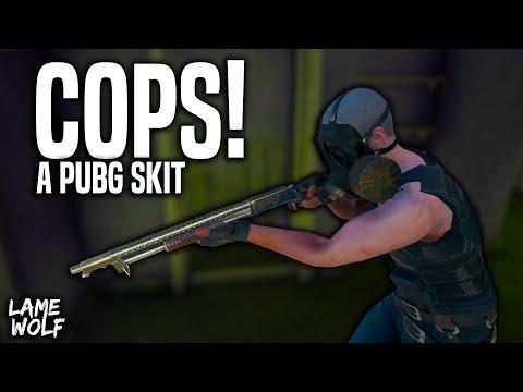 BAD COPS! A PUBG Skit - Lame Game Skits