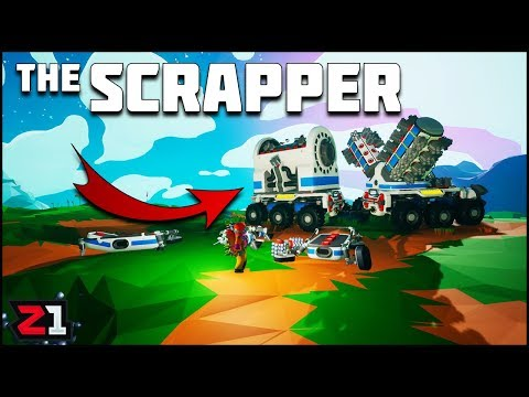 Building A Super Scrapper ! Astroneer Summer Update Ep 12 | Z1 Gaming