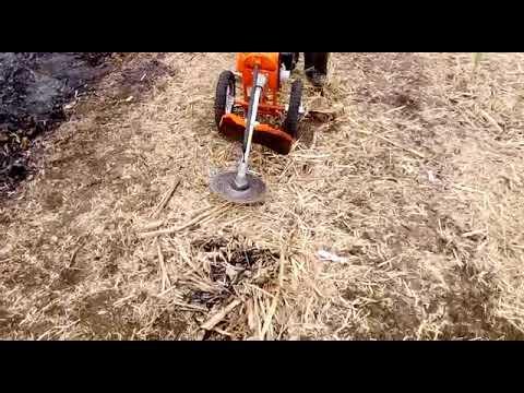 Heavy Duty Wheeled Brush Cutter