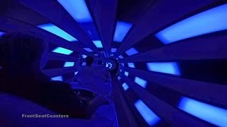 Space Mountain 60fps POV On Ride Roller Coaster Back Seat Magic Kingdom Walt Disney World GoPro