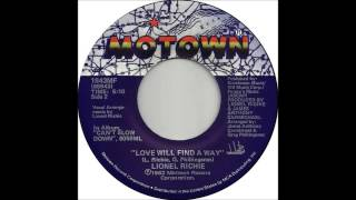 """Lionel Richie - Love Will Find A Way (Dj """"S"""" Bootleg Extended Re-Mix)"""