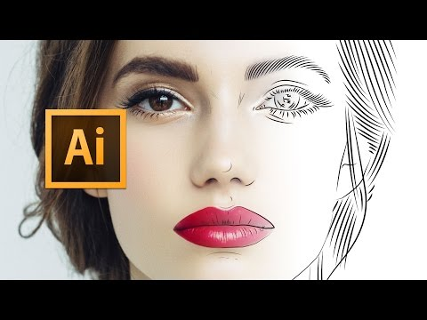 Adobe Illustrator CC – Line Art Tutorial 2016 – Tips, Tricks & Shortcuts