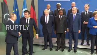 """Germany: Leaders pose for """"family photo"""" as Berlin Libya conference begins"""