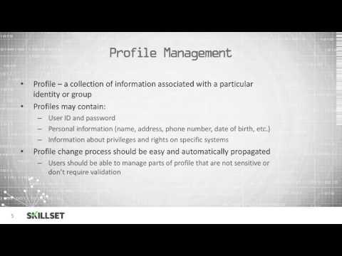 Account Management (CISSP Free by Skillset.com) - YouTube