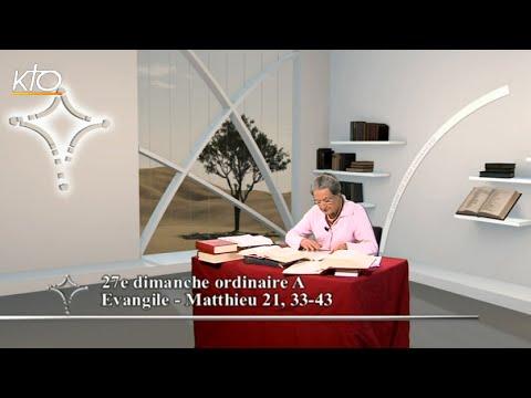 27e dimanche ordinaire A - Evangile