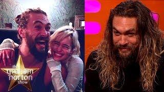 Jason Momoa Goes Crazy When He Sees Emilia Clarke   The Graham Norton Show