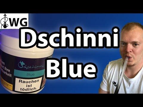 Dschinni Blue Shisha Tabak Review - Blaubeere mit Parfum :o