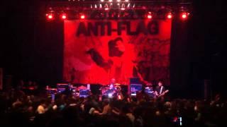 """Anti-Flag """"Sodom, Gomorrah, Washington D.C."""" Live at the Fillmore Detroit"""