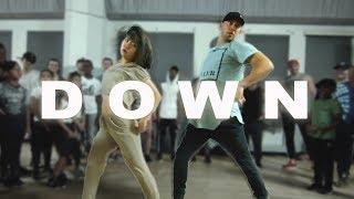 """DOWN"" - Fifth Harmony ft Gucci Mane Dance | @MattSteffanina ft Bailey Sok"