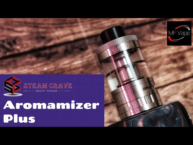 Aromamizer Plus RDTA | Steam Crave | 10ml, 5+20ml Options, RDA | Review & Rebuild | Versatile!