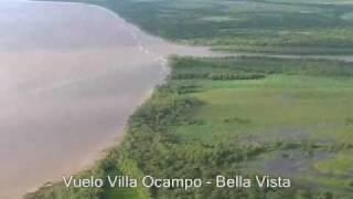 preview picture of video 'Vuelo Villa Ocampo (Sta Fe) - Bella Vista (Ctes)'