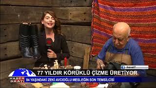 KAHRAMANMARAŞLI HÜSEYİN KOPAR HOLLYWOOD'A ÇARIK ÜRETİYOR - KANAL7 HABER - DERYA EFE
