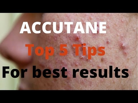 Video Accutane- 5 tips by Dermatologists
