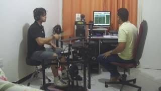 Gravação de bateria - BK Home Studio