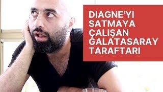Diagne'yi Satmaya Çalışan Galatasaray Taraftarı