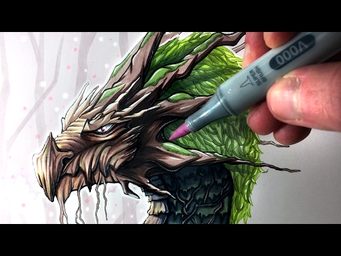 drawing an earth dragon by lethal chris