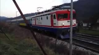 Brzi voz 397 Zagreb-Sarajevo..E 52507