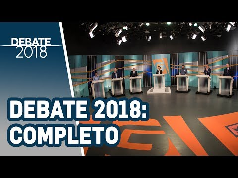 Debate 2018 | TV Gazeta - Presidência da República - 1º Turno (Completo)