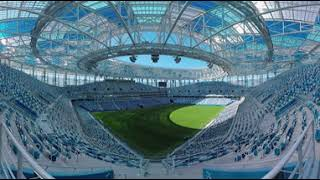 Nizhniy Novgorod stadium ready for World Cup – 360 view