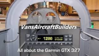 RV Aircraft Video - Aviation: All about the Garmin GTX 327 Transponder