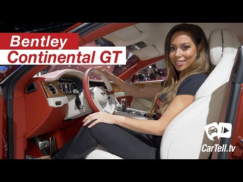 2018 Bentley Continental GT | First Look | Quick Review | CarTell.tv