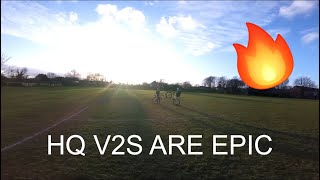 HQ V2S props are ???? // 5x4.3x3 V2S TEST FLIGHT FPV