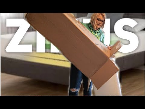 FIRST IMPRESSION & REVIEW ZINUS MEMORY FOAM 8″ MATTRESS – August 10th, 2017 – usaaffamily vlog