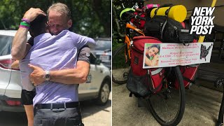 Dad Bikes 1,400 Miles To Hear His Daughter's Heartbeat In Man's Chest | New York Post