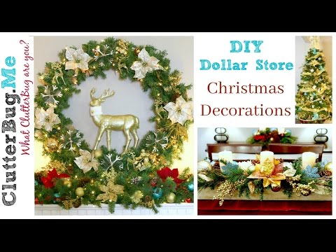 DIY Dollar Tree Christmas Decor Ideas for 2016
