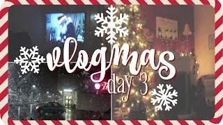 ❄️ VLOGMAS 2016 Day 3❄️ | WRITING CHRISTMAS CARDS & MORE SNOW