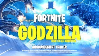 *NEW* FORTNITE GODZILLA CINEMATIC TRAILER! ALL DETAILS & LEAKS!: BR