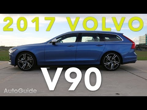 Volvo 2017 Volvo V90 R-Design T6 AWD Review videosu