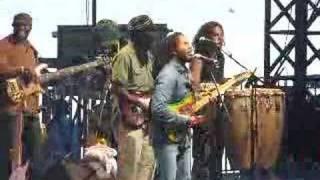 ziggy marley 2 antibes 2007(make some music)