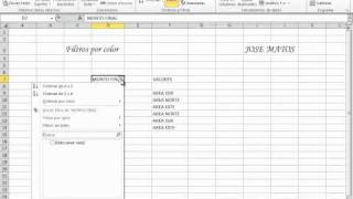 filtros por color excel 2010